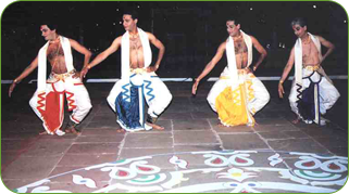 Associated dancers in India